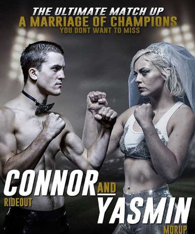 Connor Rideout and Yasmin Morup