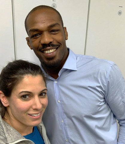 Ashley Lauren Rollo Jon Jones UFC MMA Fighter