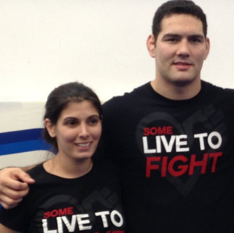 Chris Weidman MMA and Ashley Lauren Rollo