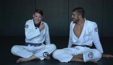 Rener Gracie and Zac Cunningham