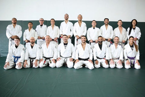 Gracie University Training Partners Zac Cunningham