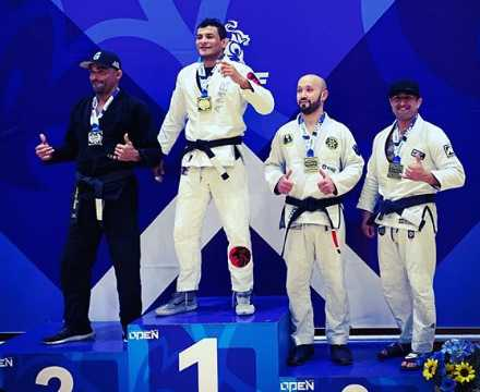 Louis Moreno Jiu-Jitsu Competition