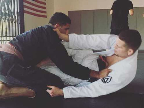 Mikey Hothi Training BJJ at Nick Diaz Academy