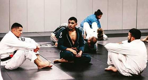 Mikey Hothi Jiu-Jitsu Class at Nick Diaz Academy