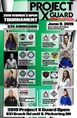 Charity BJJ Tournament Ontario Canada Project X Guard