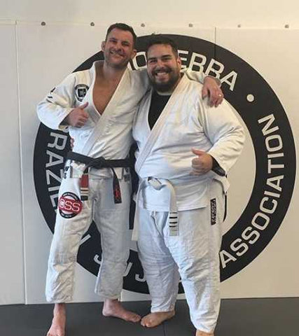Professor Colin and Daniel G. Jiu-Jitsu