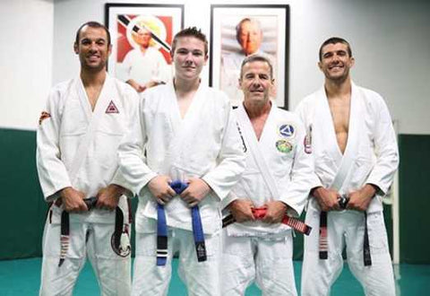 Zac Cunningham at Gracie Academy