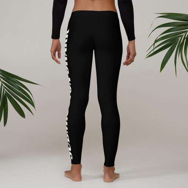 Advanced Athletes Leggings (Black) | Submission Shark MMA Spats