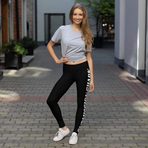Advanced Athletes Leggings (Black) | Submission Shark Women's Wear