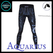 Aquarius Compression Spats | Submission Shark's MMA and Fitness Apparel | Front