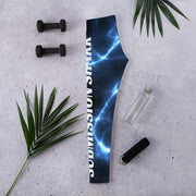 Aquatic Storms Leggings | Submission Shark - tamlifestyle