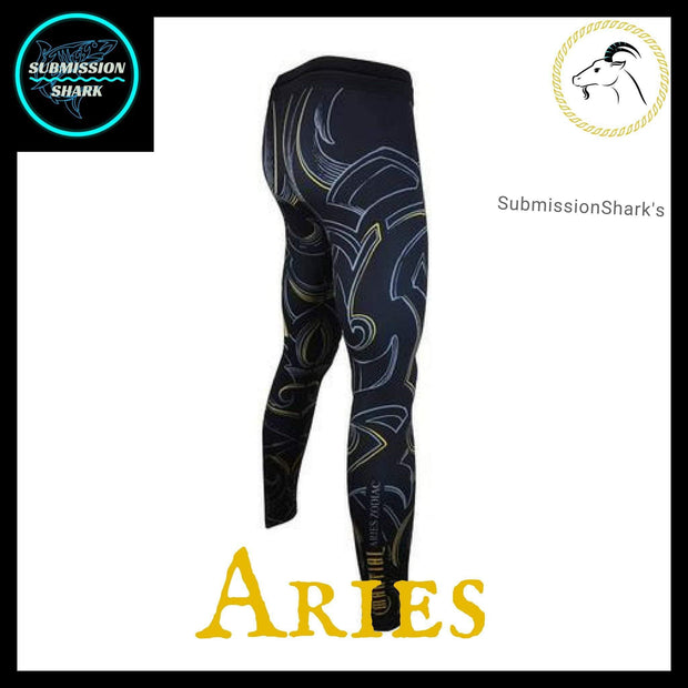 Aries Compression Pants | Submission Shark's Dark Zodiac Series