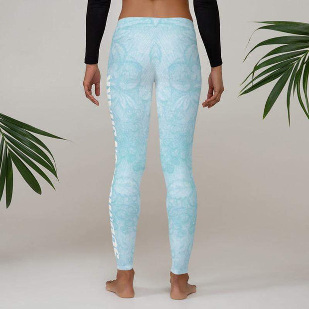 Baby Blue Beauty Leggings | Submission Shark - tamlifestyle