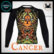 Cancer Rashguard (Long Sleeve) | Submission Shark | Front