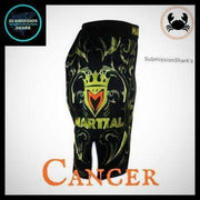 Cancer MMA Fight Shorts | Submission Shark | Right Side