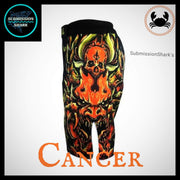 Cancer MMA Fight Shorts | Submission Shark | Left Side