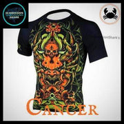 Cancer Compression Shirt | Submission Shark | Left Front
