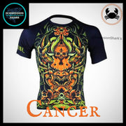Cancer Compression Shirt | Submission Shark | Front