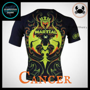 Cancer Compression Shirt | Submission Shark | Back