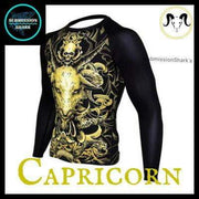 Capricorn Rashguard (Long Sleeve) | Submission Shark's Nogi Apparel