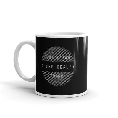 Choke Dealer Jiu-Jitsu Mug | Submission Shark - tamlifestyle