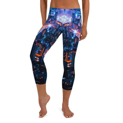 City Lights Capri Leggings - No-Gi Jiu Jitsu Gear