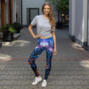 City Lights Leggings | Submission Shark - tamlifestyle