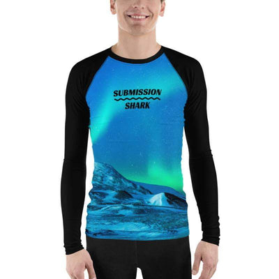 Men's BJJ Rash Guard (Cosmic Aurora) - Submission Shark