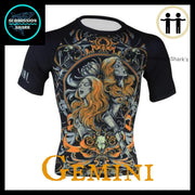 Gemini Compression Shirt Front | Submission Shark