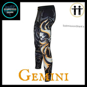 Gemini Compression Spats Front Left | Submission Shark's Fitness and MMA Apparel