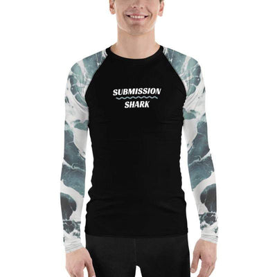 Ivory Oceans ~ Men's BJJ Rash Guard