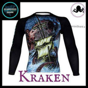 Killer Kraken Long Sleeve Rashguard | Submission Shark
