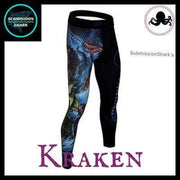 Killer Kraken Compression Spats | Submission Shark's Fitness and MMA Apparel | Right Front