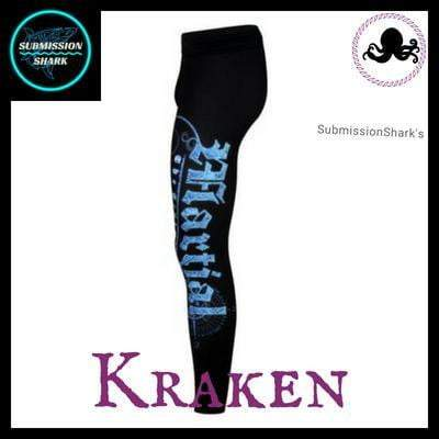 Killer Kraken Compression Spats | Submission Shark's Fitness and MMA Apparel | Left Side