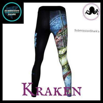 Killer Kraken Compression Spats | Submission Shark's Fitness and MMA Apparel | Back