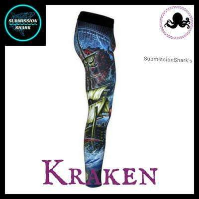 Killer Kraken Compression Spats | Submission Shark's Fitness and MMA Apparel | Right Side