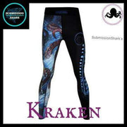 Killer Kraken Compression Spats | Submission Shark's Fitness and MMA Apparel | Front