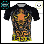 Libra Compression Shirt | Submission Shark Front