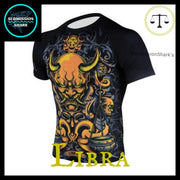 Libra Compression Shirt | Submission Shark Left Front