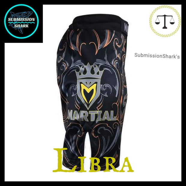 Libra MMA shorts | Submission Shark Right Side