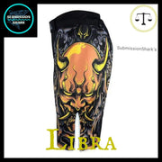 Libra MMA shorts | Submission Shark Left Side