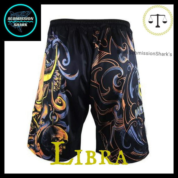 Libra MMA shorts | Submission Shark Back