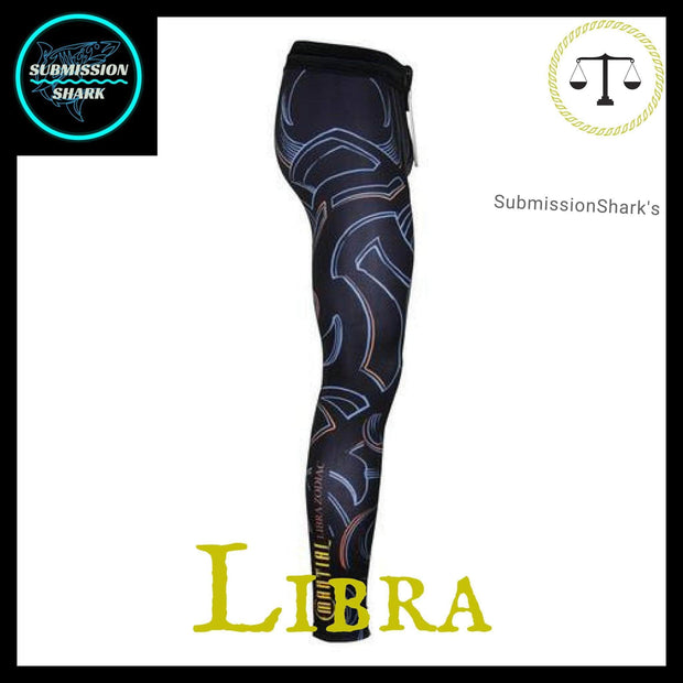 Libra Compression Spats | Submission Shark Right Side