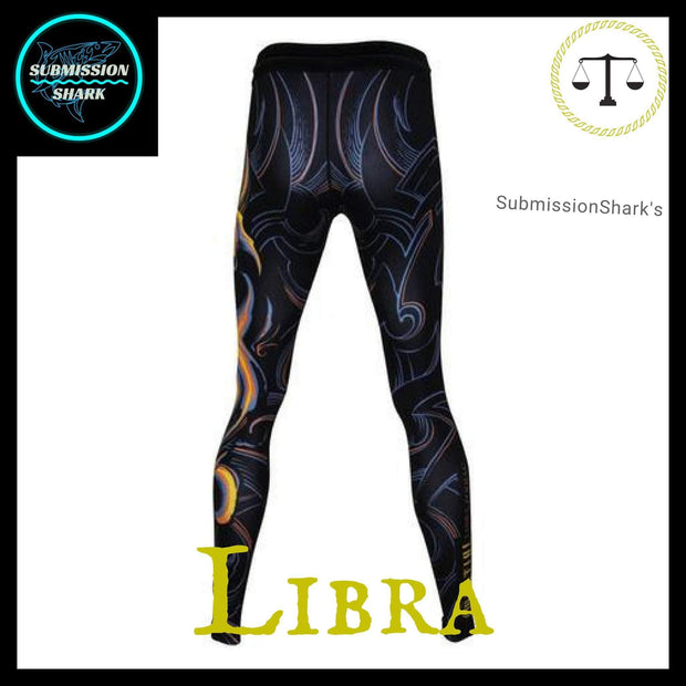 Libra Compression Spats | Submission Shark Back