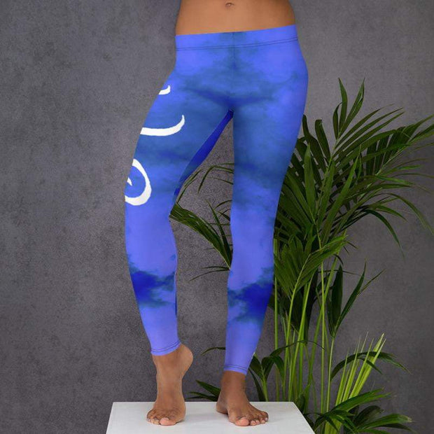 Mother Kali (Death of Ego) | Submission Shark' Limited Edition Leggings Front Mockup