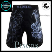Pisces MMA Fight Shorts | Submission Shark | Front