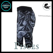 Pisces MMA Fight Shorts | Submission Shark | Left Side