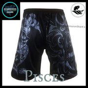 Pisces MMA Fight Shorts | Submission Shark | Back