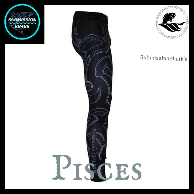 Pisces Compression Spats | Submission Shark's Fitness and MMA Apparel | Right Side