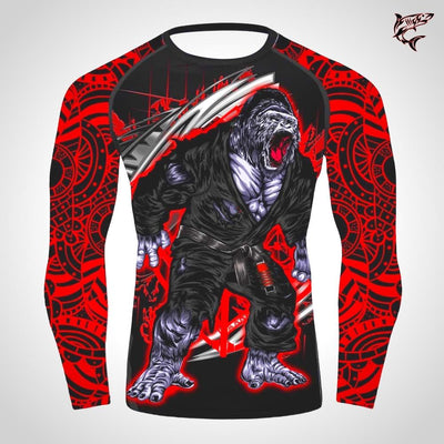 Primal Savage Gorilla | Unisex Rash Guard | Limited Edition